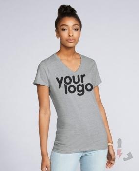 Camisetas Gildan Premium cuello V W 4100VL