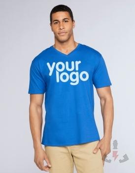 Camisetas Gildan Premium cuello V 41V00