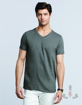camisetas Gildan Soft style cuello V