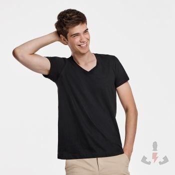 Camisetas Roly Vegas Cuello V CA6549