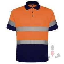 Color 55223 (Azul Marino / Naranja Fluor)