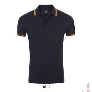 Color 535 (French navy / Neon orange)