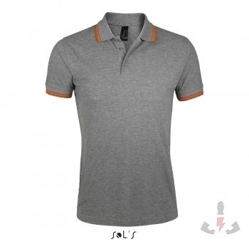 Color 932 (Grey melange - Orange)