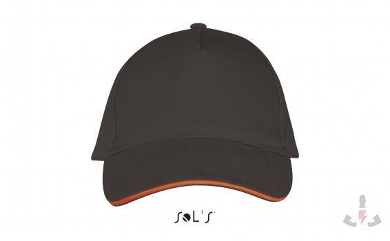 Color 799 (Dark grey / Orange)