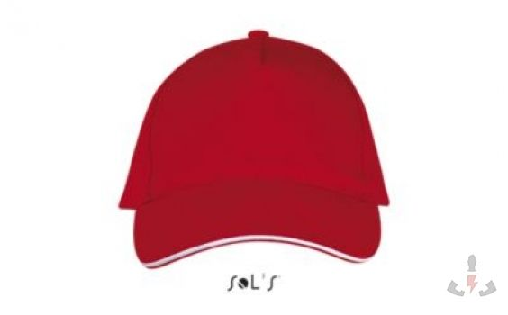 Color 908 (Red - White)
