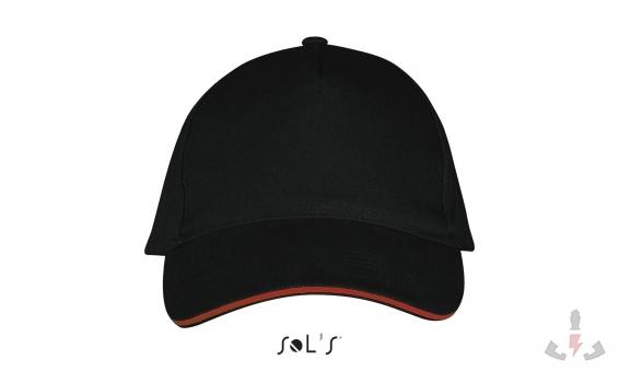 Color 917 (Black / Red)