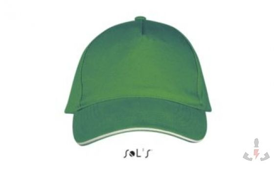 Color 920 (Kelly green / White)