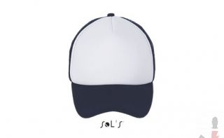 Color 989 (White / french navy)
