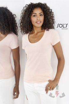Camisetas para ellas Sols Metropolitan 02079