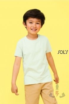 Camisetas infantiles Sols Martin kids 03102