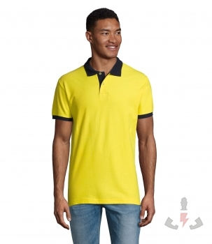 Color 902 (Lemon / French navy)