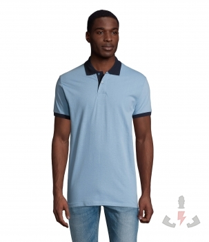 Color 922 (Sky blue / French navy)