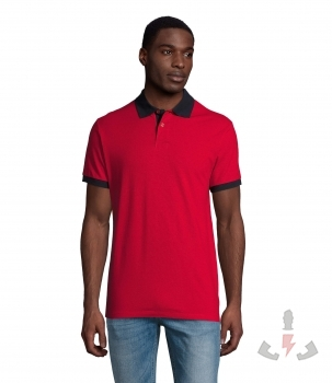 Color 925 (Red / French navy)