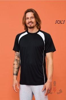 camisetastecnicas Sols Match 11422