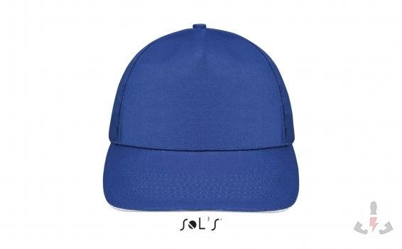Color 913 (Royal blue - White)