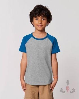 Camisetas infantiles StanleyStella Mini Catcher Heather K STTK914