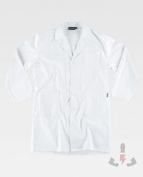 chaquetas Work Team Bata blanca servicios B7111