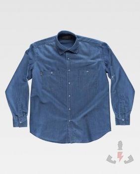Camisas Work-Team Camisa industrial tejana B8700