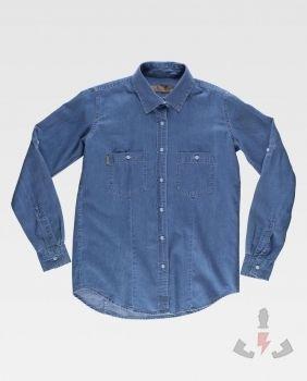 Camisas Work-Team Camisa tejana industrial W B8790