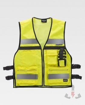 Chalecos Work-Team Multibolsillos Alta visibilidad C3601