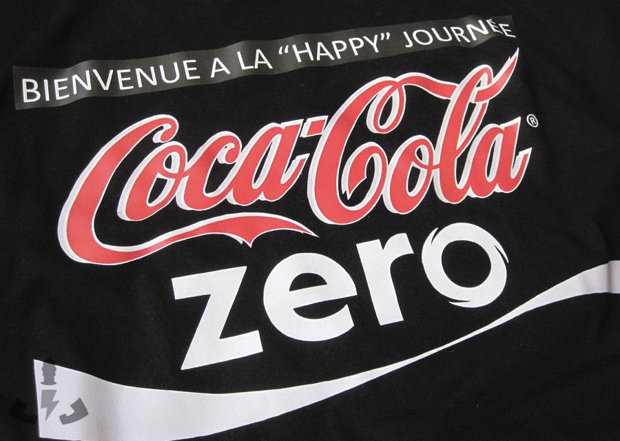 camiseta personalizada coca-cola