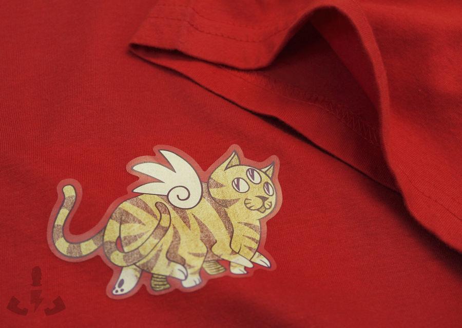 diseño gato vinilo de impresión